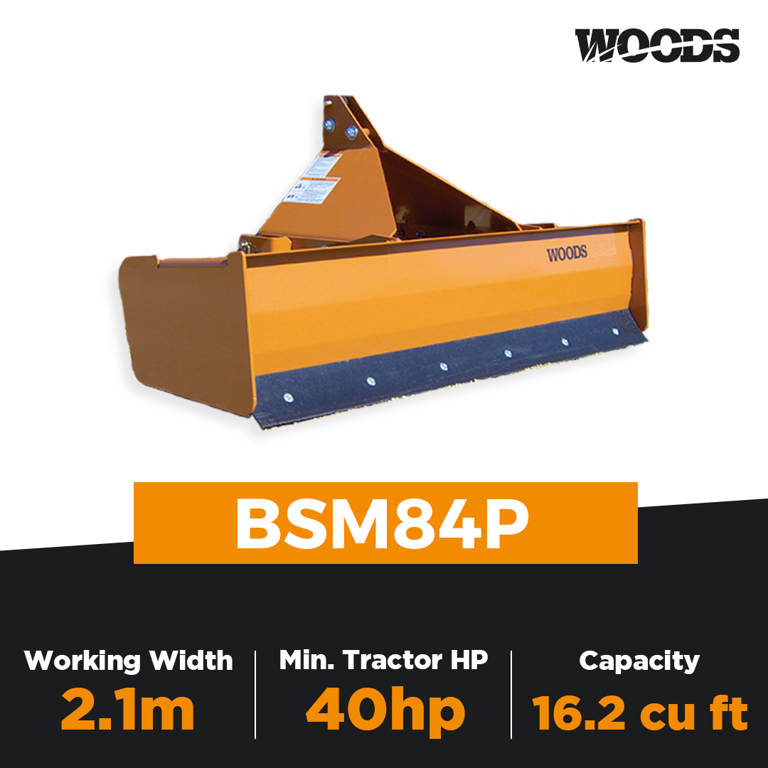 Woods BSM84P Box Scraper