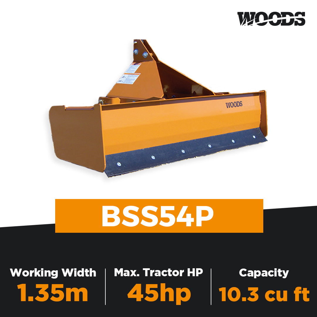 Woods BSS54P Box Scraper