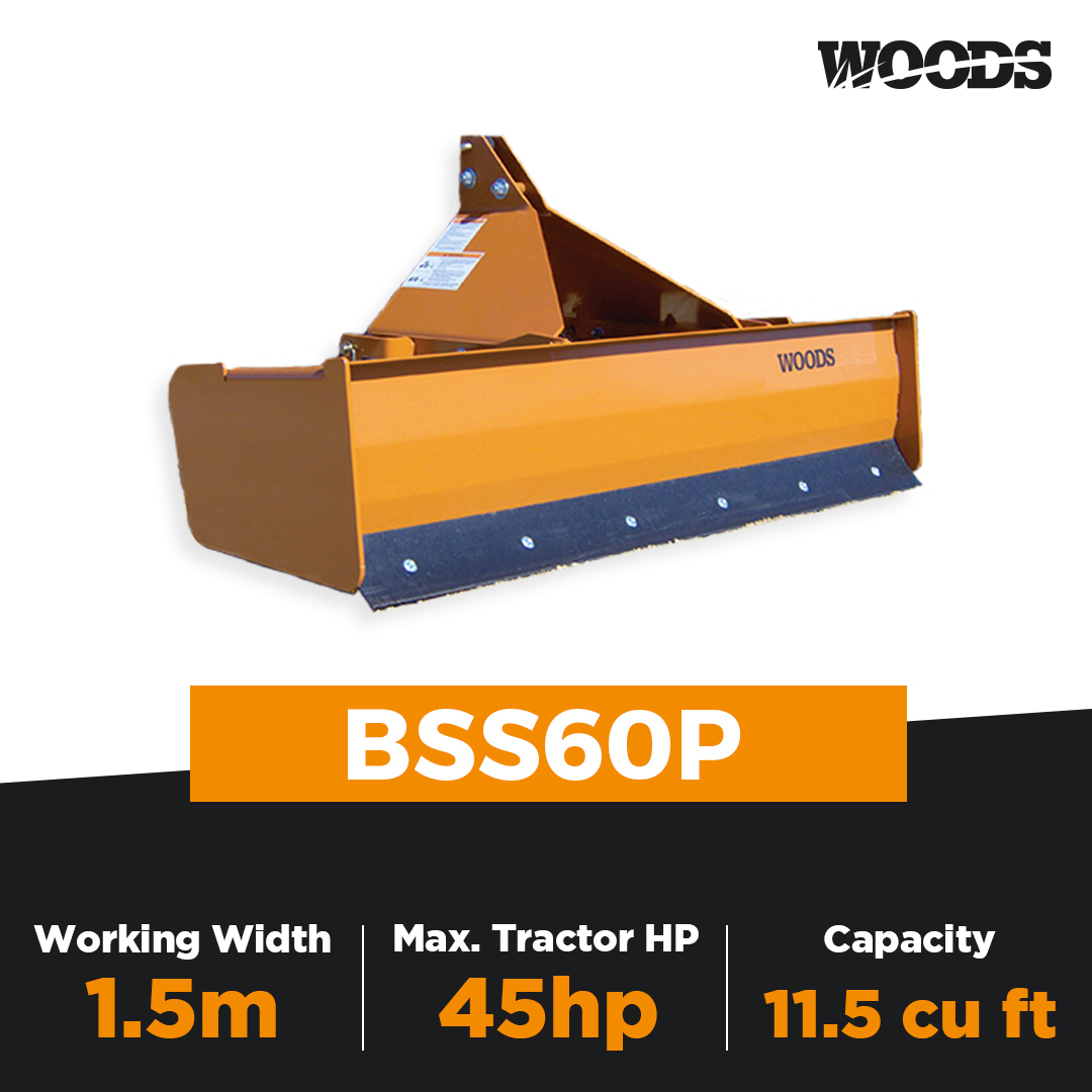 Woods BSS60P Box Scraper
