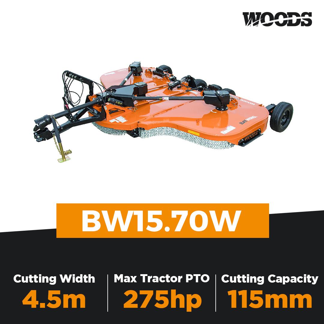 Woods Batwing BW15.70W Flex Wing Slasher