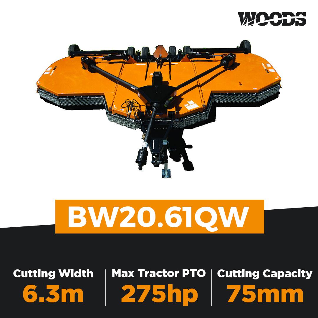 Woods Batwing BW20.61QW Flex Wing Slasher