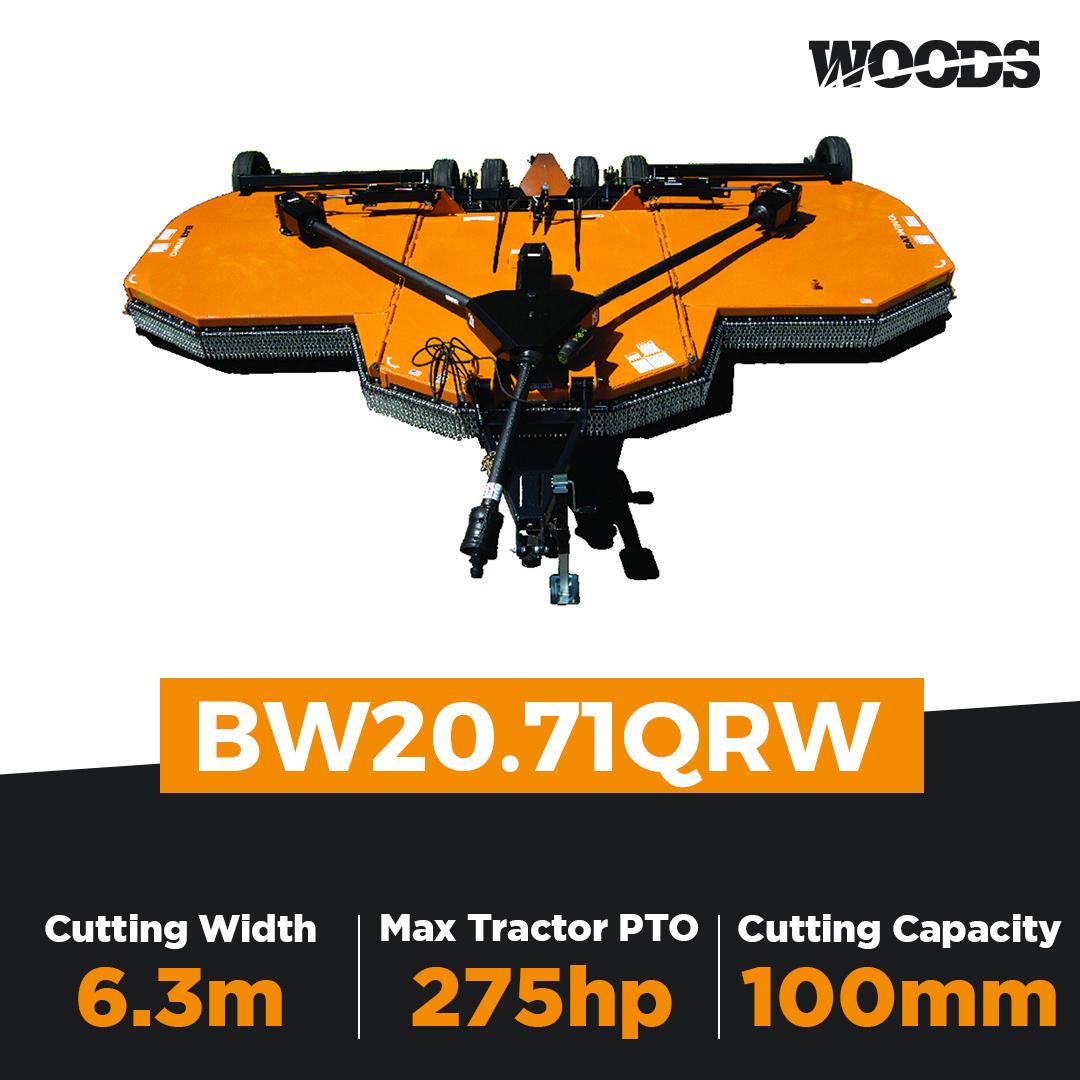 Woods Batwing BW20.71QRW Flex Wing Slasher