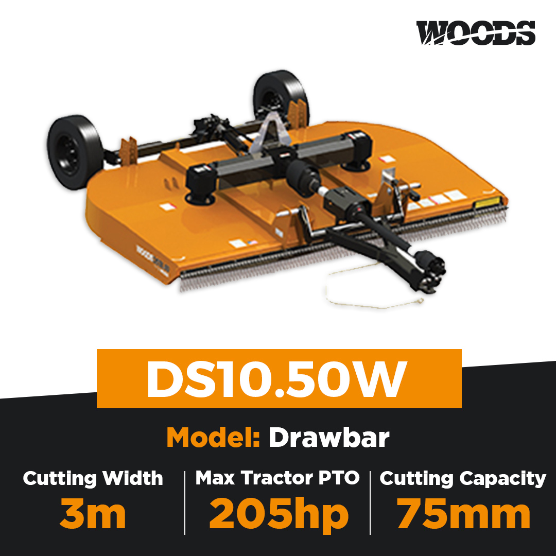 Woods DS10.50W Dual Spindle Slasher