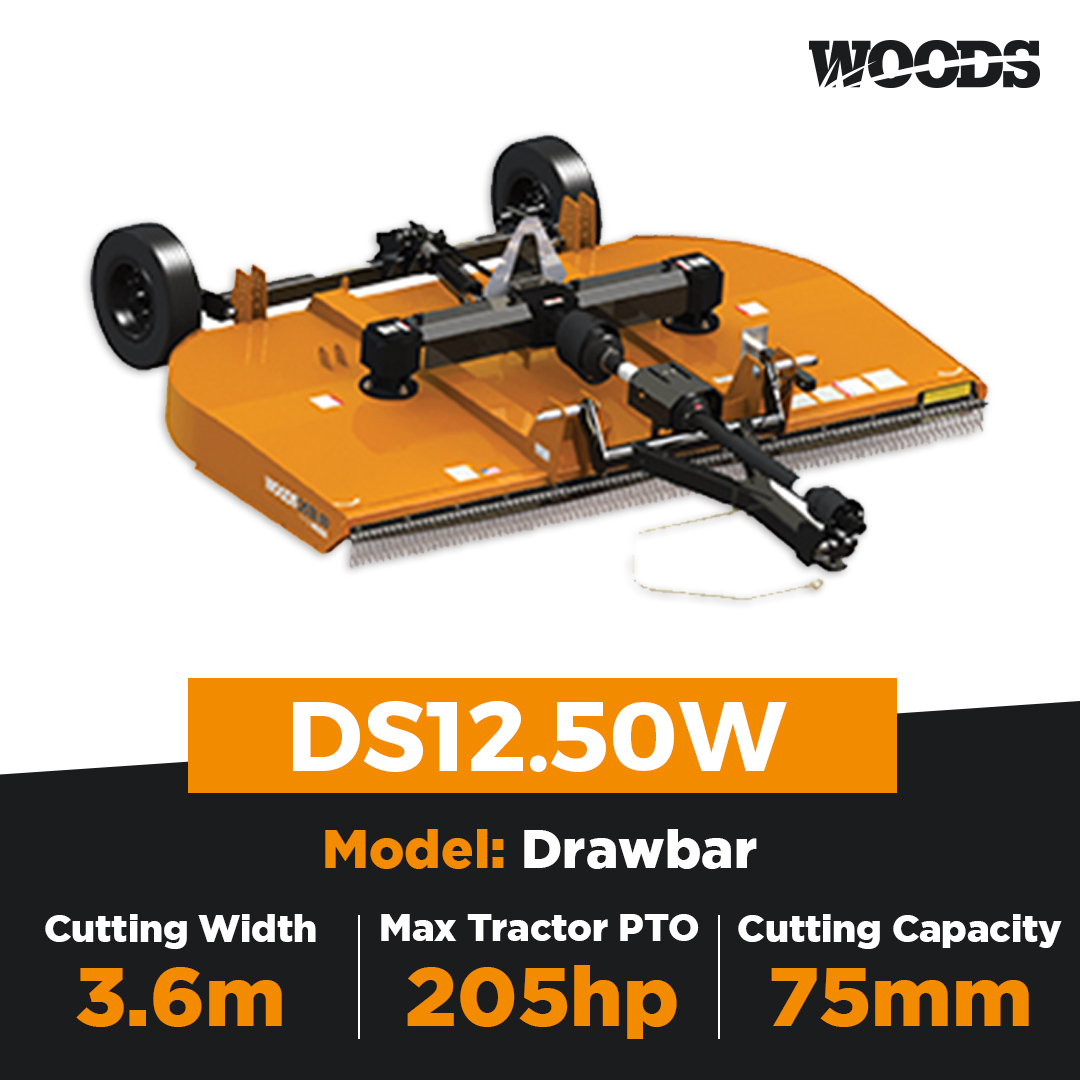 Woods DS12.50W Dual Spindle Slasher