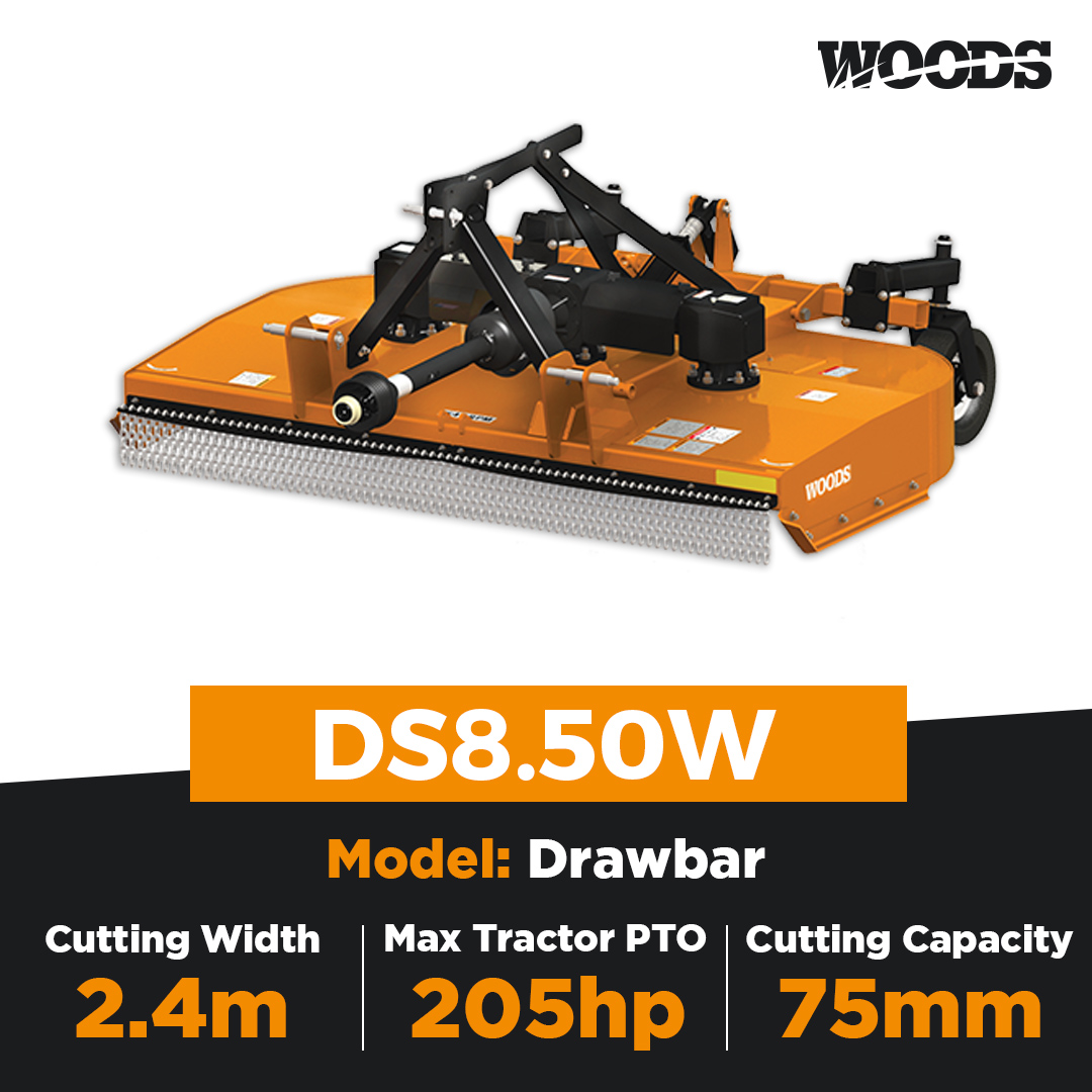 Woods DS8.50W Dual Spindle Slasher