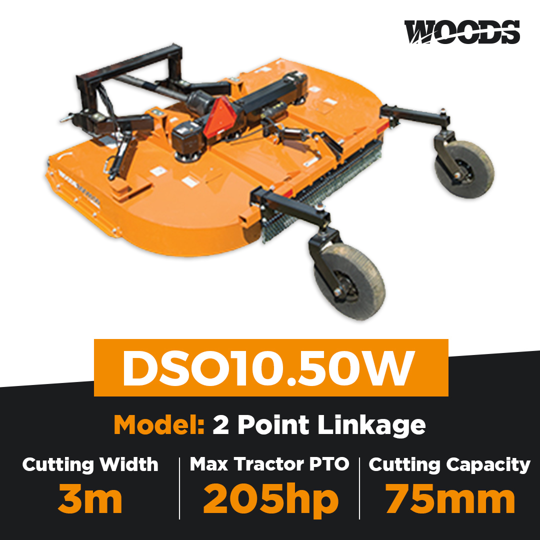 Woods DSO10.50W Dual Spindle Slasher