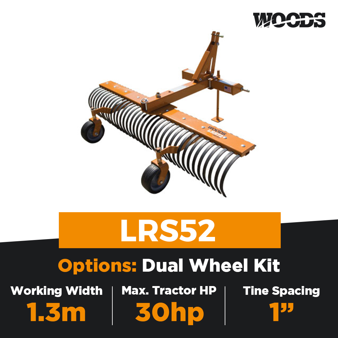Woods LRS52 Landscape Rake