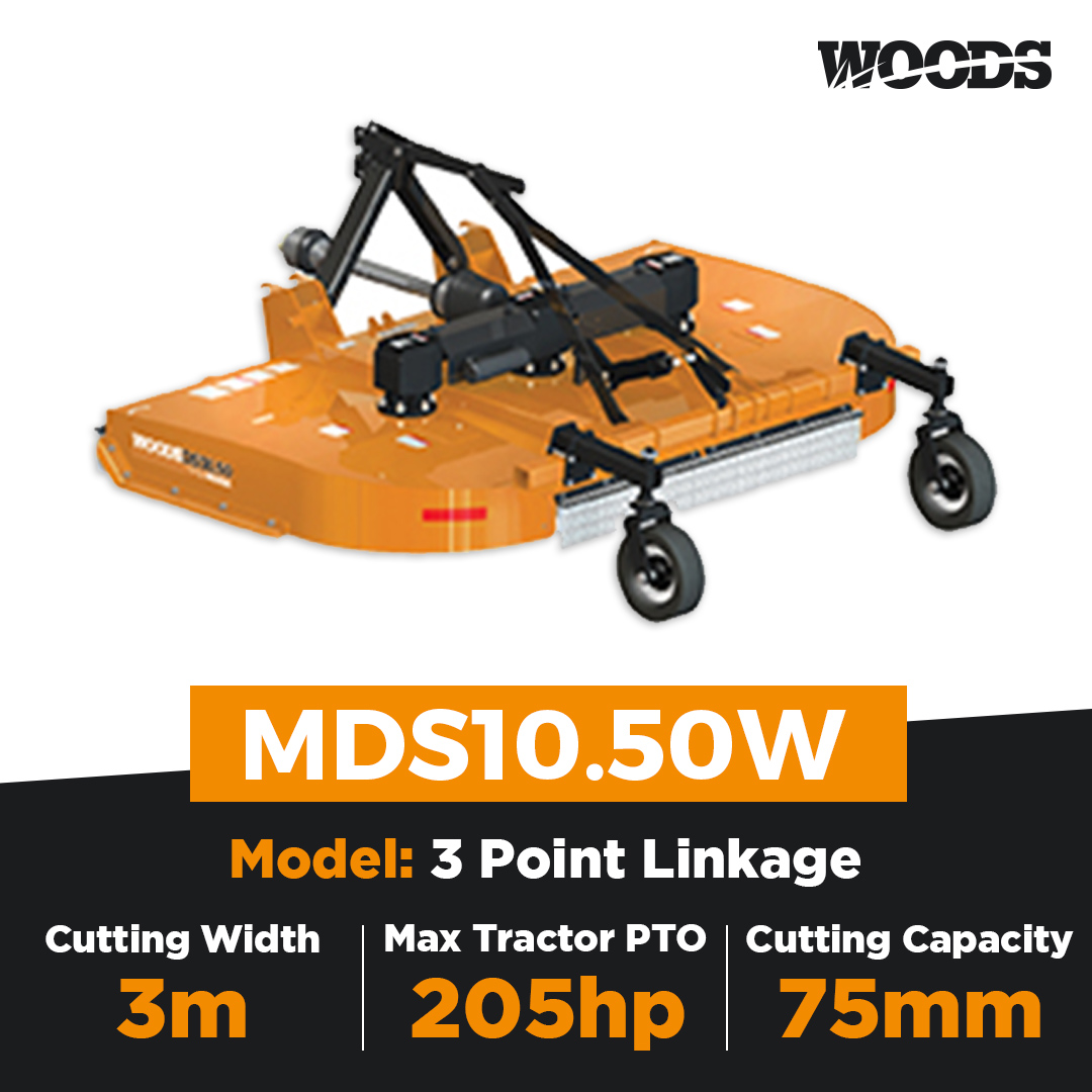 Woods MDS10.50W Dual Spindle Slasher