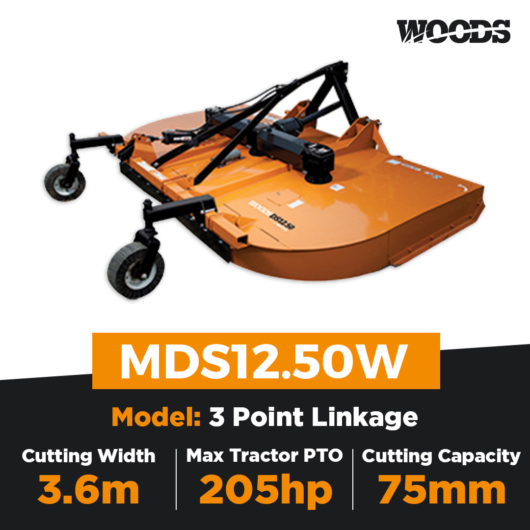 Woods MDS12.50W Dual Spindle Slasher