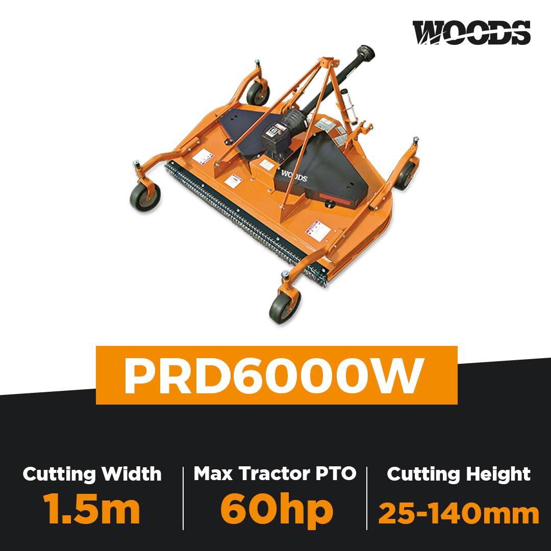 Woods PRD6000W Finishing Mower