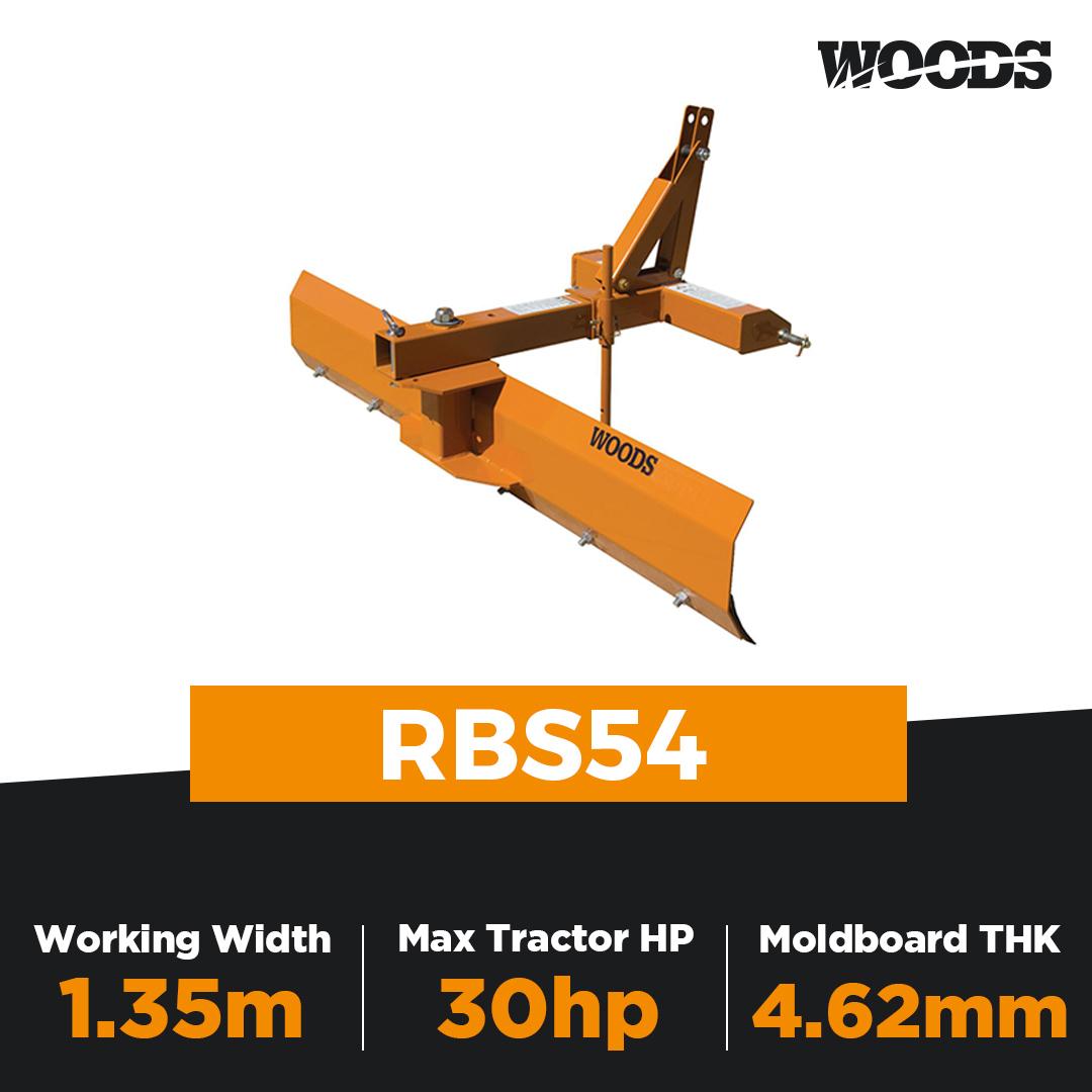 Woods RBS54 Rear Blade