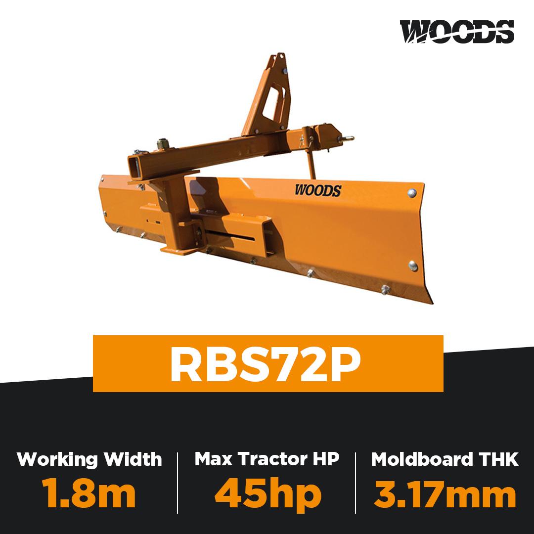 Woods RBS72P Rear Blade