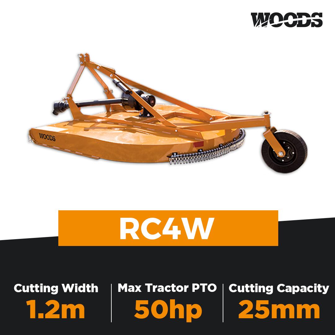 Woods RC4W Single Spindle Slasher