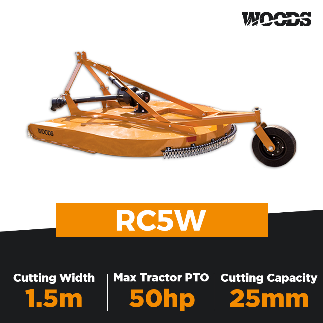 Woods RC5W Single Spindle Slasher