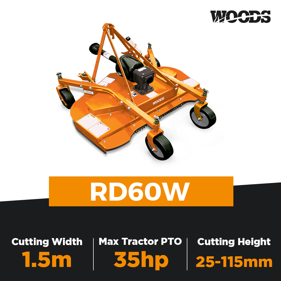 Woods RD60W Finishing Mower