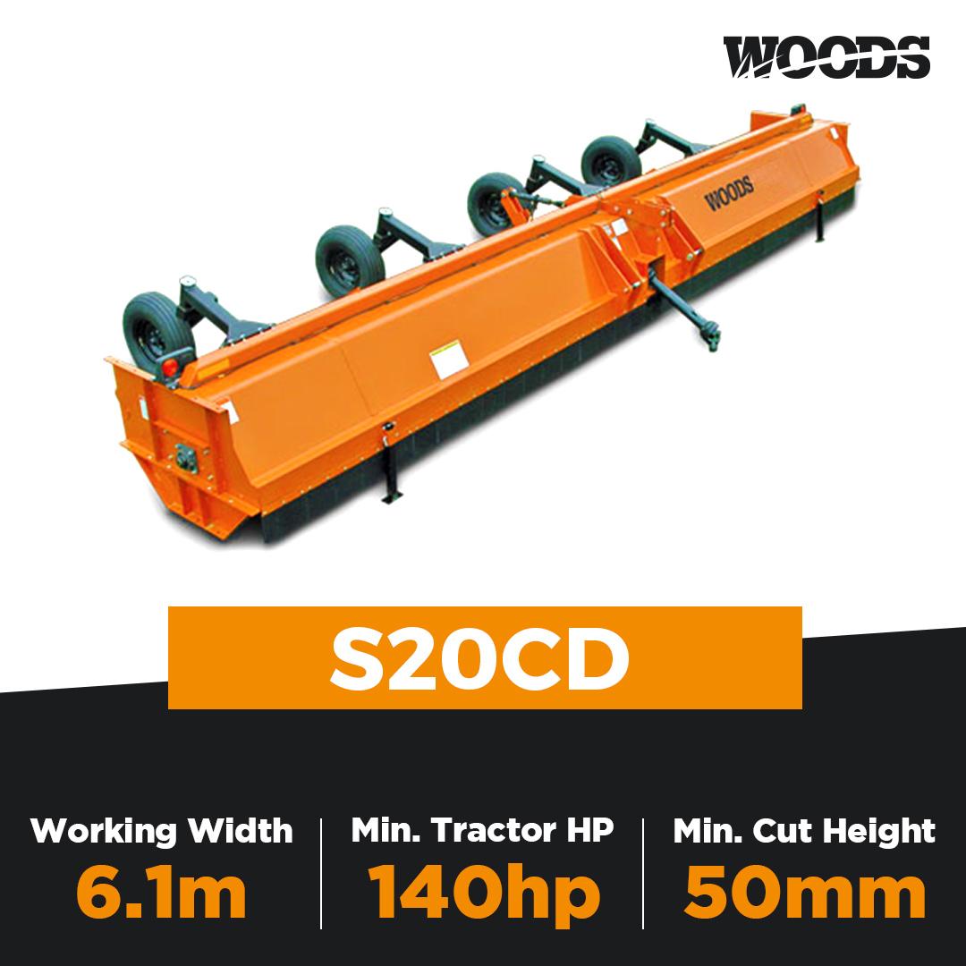 Woods S20CD Rotary Mulcher