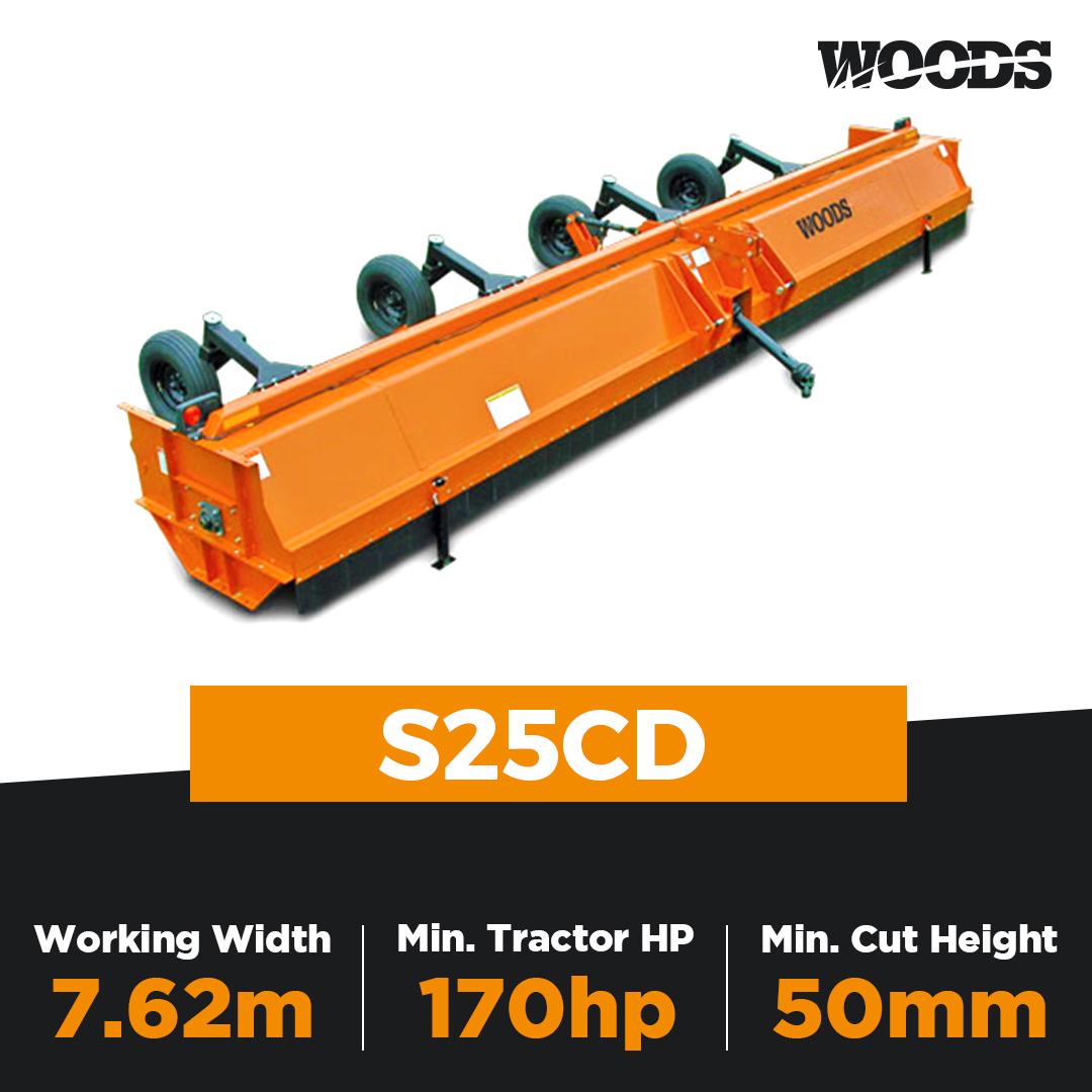 Woods S25CD Rotary Mulcher