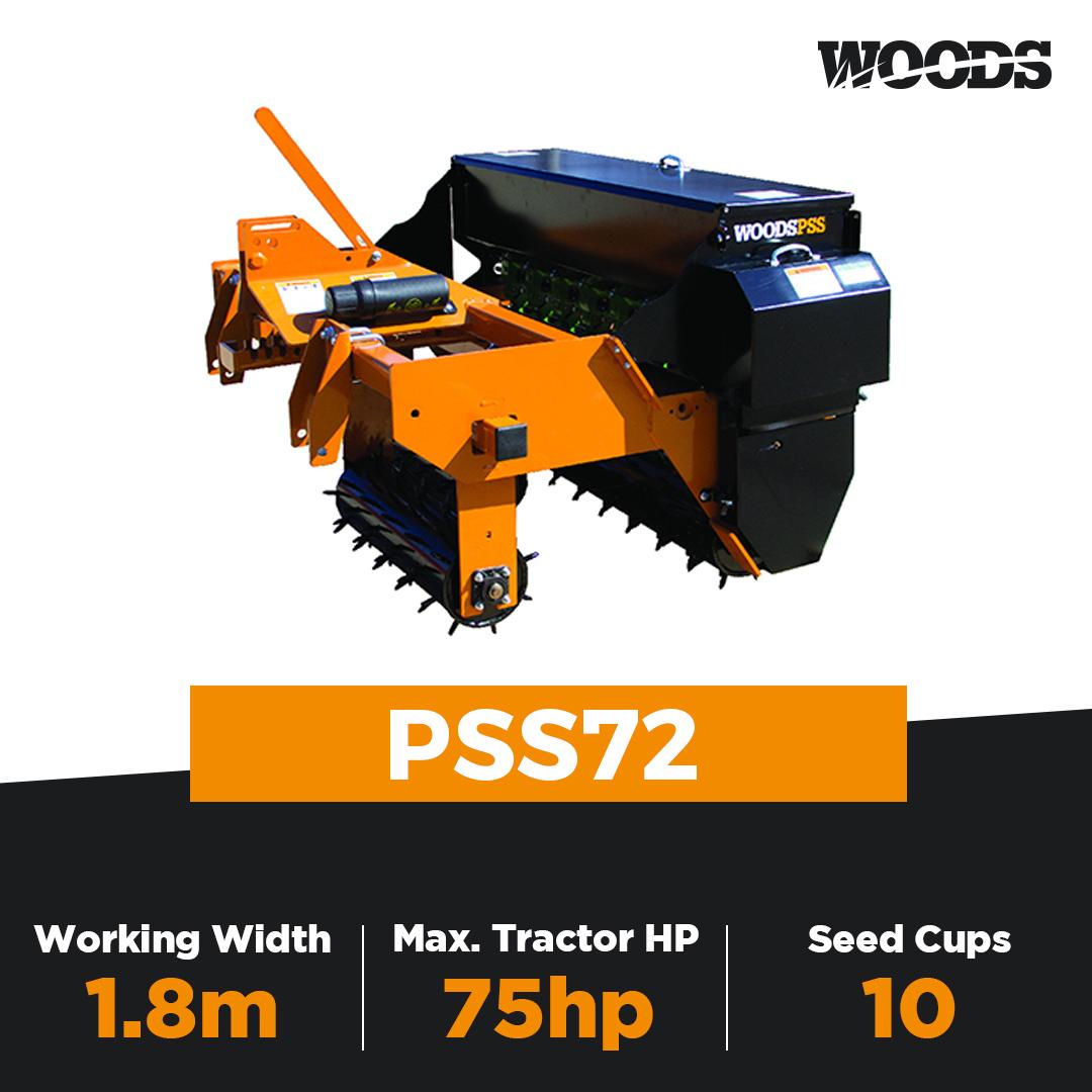 Woods PSS72 Precision Super Seeder