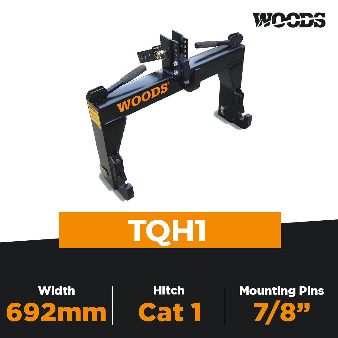 Woods TQH1 Category 1 Quick Hitch
